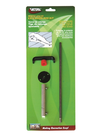 Valterra T1046-10VP Waste Valve Extension Handle Questions & Answers