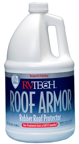RVTECH ROOFARMORGAL ROOF ARMOR Rubber Roof Protectant - 1 Gallon Questions & Answers