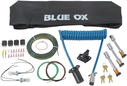 Towing Accessories Kit For Blue Ox Aventa Lx Tow Bar - 10,000 Lb