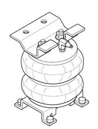 Firestone 2080 Ride-Rite Air Springs Chevy/GMC 1963-1992 P30 Class A Motorhome Chassis Questions & Answers
