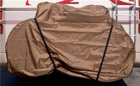 Bike cover 6502...will that work with a RV ladder mount carrier?