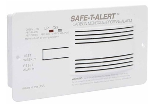 Safe-T-Alert 70-742-P-WT 70 Series Dual CO/LP RV Gas Alarm - White Questions & Answers