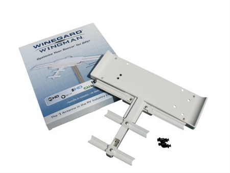 Can the Wingman RV Antenna Upgrade be mounted on either side of the existing batwing antenna?