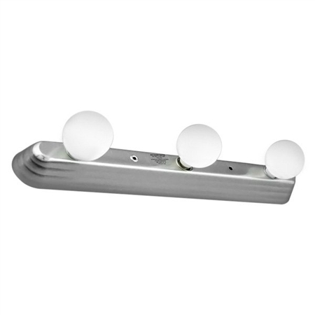 LaSalle Bristol GS58AM55715XZ Contemporary Cosmetic Light - Satin Nickel Questions & Answers