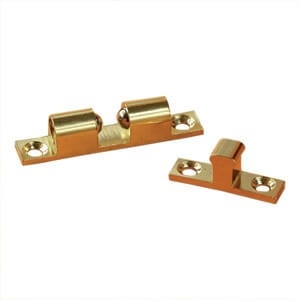 RV Designer H221 Brass Bead 2'' Door Catch - 2 Pack Questions & Answers