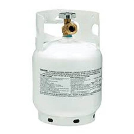 Manchester Tank 10054 Steel Tank LP Gas Cylinder - 5Lbs Questions & Answers