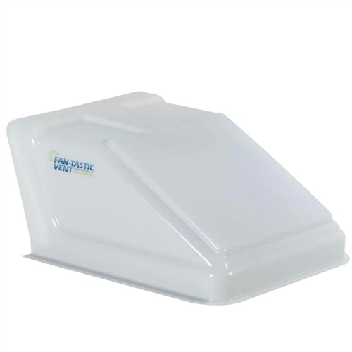 Will this cover allow an airxcel  roof vent with rain sensor to open all the way without hitting the ultra breeze?