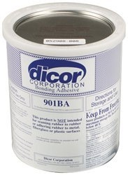 How long does Dicor EPDM adhesive take to cure?  Doing half at a time can I walk on the first half to lay in the second half ?