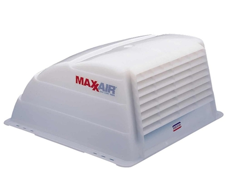 Maxxair 00-933066 Translucent RV Roof Vent Cover - White