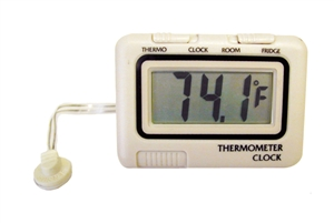 Prime Products 12-3020 RV Refrigerator Thermometer & Clock Questions & Answers