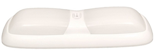 Gustafson AM4004 Double Eurostyle Interior RV Light - White Questions & Answers