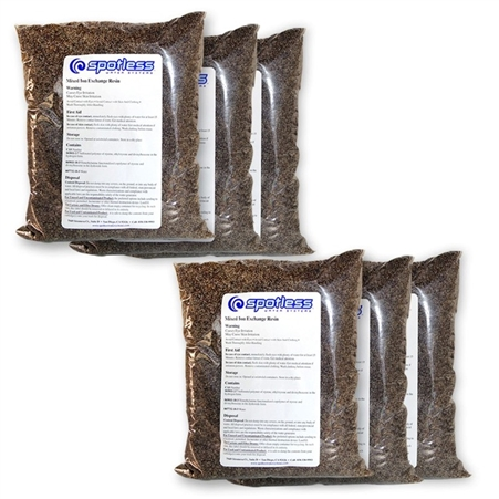CR Spotless R6-20 Bulk Replacement Resin For DIW-20/DIC-20 Questions & Answers