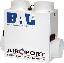 BAL 25110 Air-Port Fresh RV Air Exchanger Questions & Answers