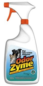 Is the odorzyme product safe for painted Sheetrock walls. Does it leave a stain. What is the best way to use it?