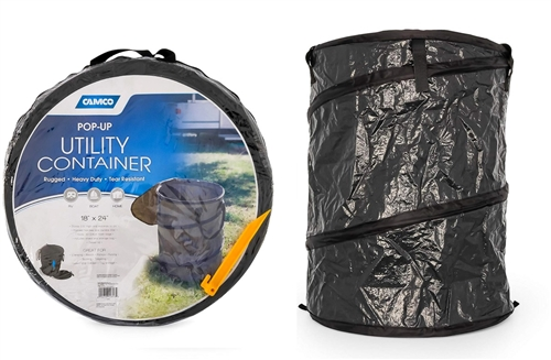 Camco 42893 Collapsible Utility Container - 18'' x 24'' Questions & Answers