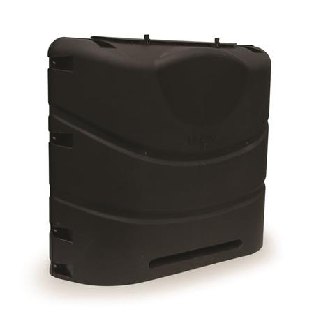 Camco 40539 Heavy Duty RV Propane Tank Cover - Black - 30 lbs