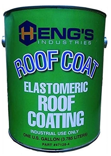Heng's 47128-4 Elastomeric White Roof Coating - 1 Gallon Questions & Answers