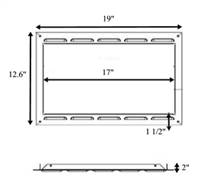 RV Microwave Oven Trim Kit, FR780B Questions & Answers