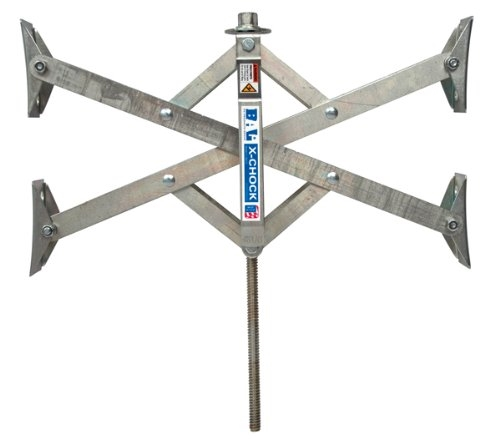 BAL 28014 X-Tended Fit X-Chock Locking Tire Chock - Single Questions & Answers