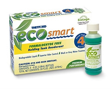 Thetford 36974 Eco-Smart Holding Tank Deodorant 4 Oz Bottles Questions & Answers