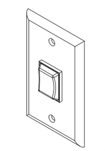 Lippert 140530 6 Prong Interior Switch With Wall Plate Questions & Answers