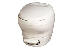 Thetford 31085 Bravura High Profile RV Toilet Without Water Saver - Parchment Questions & Answers