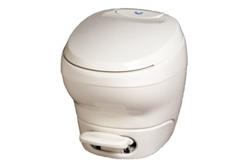 Thetford 31085 Bravura High Profile RV Toilet Without Water Saver - Parchment