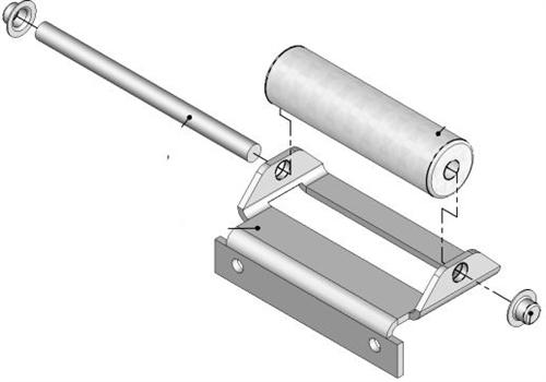 Lippert 276288 J-36 Slide-Out Roller Assembly