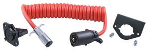 Need a 10 foot coiled cable 7 to 6 wire?