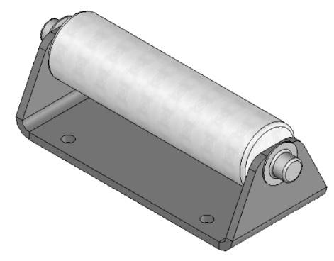 Lippert 244838 J-33 Slide-Out Roller Assembly