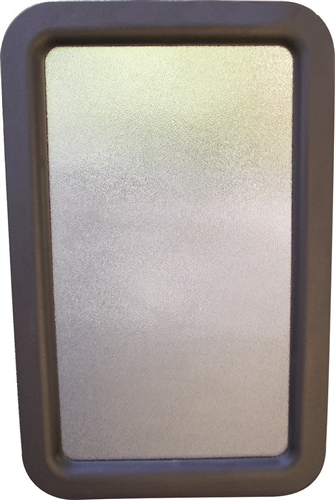 Valterra A77051 RV Entrance Door Glass and Frame Assembly - 12'' x 21'' Questions & Answers