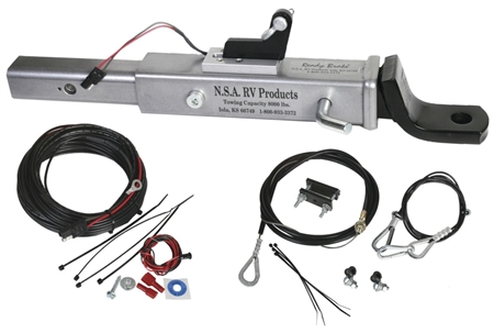 Will Readybrake RB-4000B Towed Vehicle Ball Style Supplemental Brake System fit a 2003 Jeep TJ?