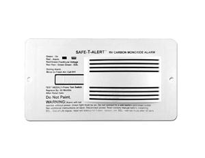 Safe-T-Alert 65-542-WT Carbon Monoxide Alarm Flush Mount