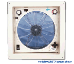 What is the difference between model 6000 bta and model 6000 rbta vent?
