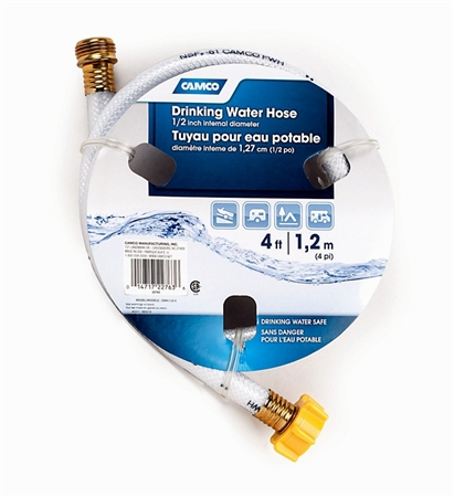 Camco 22763 RV Drinking Water Hose - 4' Questions & Answers