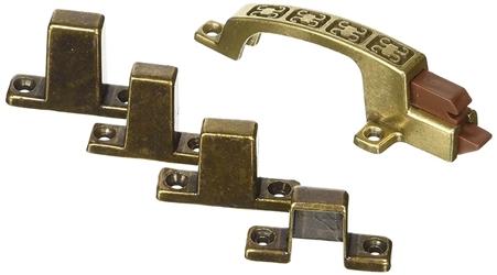 RV Designer H241 Positive Door Latch - Hieroglyphic Design - Bronze Questions & Answers