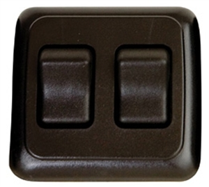 Valterra DG3215VP Double Contoured On/Off Switch - Black