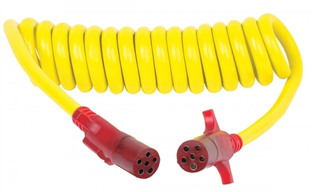 Hi, What is the length of the 47045 cable? How long does it stretch? Are the ends considered males? Thanks, Kevin