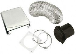 Splendide VID403AC Deluxe RV Dryer Vent Kit - Chrome Questions & Answers
