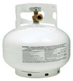 Manchester Tank 10393.1 Steel Tank LP Gas Cylinder - 11 lb