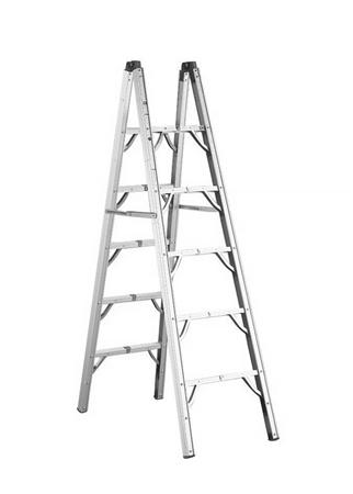 GP Logistics SLD-D6 Double Sided Folding Ladder - 6'