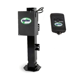 Bigfoot SQI24-IW Hydraulic Horse Trailer Jack Landing Gear With Wireless Remote No Override