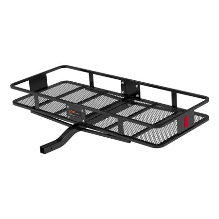 For the Curt 18152 2 Piece Large Basket Cargo Carrier, if you have a spare tire on your camper would you need an extention for the hitch?
