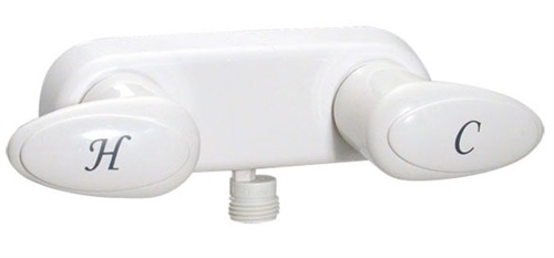Phoenix PF223241 Two Handle RV Shower Valve, White Questions & Answers