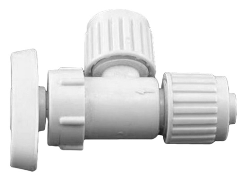 "Flair-It 16885 Angle Stop Valve - 1/2"" PEX"