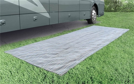 Prest-O-Fit 2-3000 Aero-Weave Seascape Outdoor RV Mat - 6' x 15' Questions & Answers