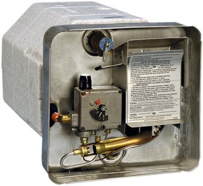 Suburban 5123A Pilot Ignition Gas/Electric Water Heater - 10 Gallon