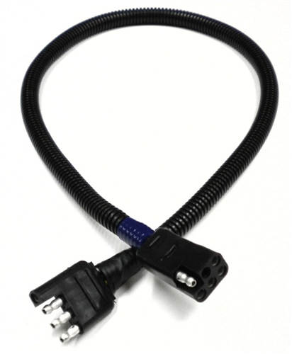 """RV Pigtails 30020 4-Way Flat To 6-Way Square Adapter For Starcraft - 30"""""""
