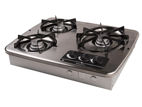 How high are the grates off the top surface of 56472 stove ?