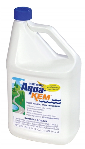 What's the difference between aqua chem holding tank treatment 24260 and 28614?